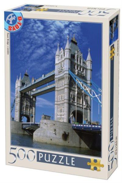 D-TOYS Puzzle Tower Bridge, Londýn 500 dílků
