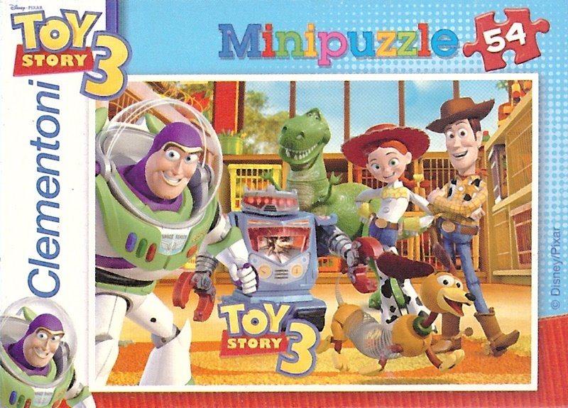 CLEMENTONI Puzzle Toy Story 3: Bezva parta 54 dílků