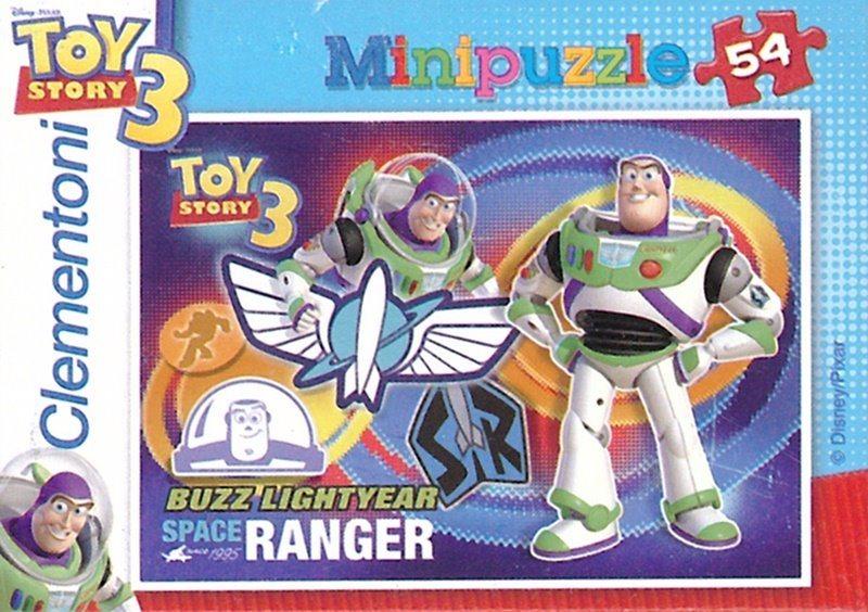 CLEMENTONI Puzzle Toy Story 3: Buzz Rakeťák 54 dílků