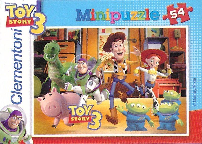 CLEMENTONI Puzzle Toy Story 3: Útěk 54 dílků