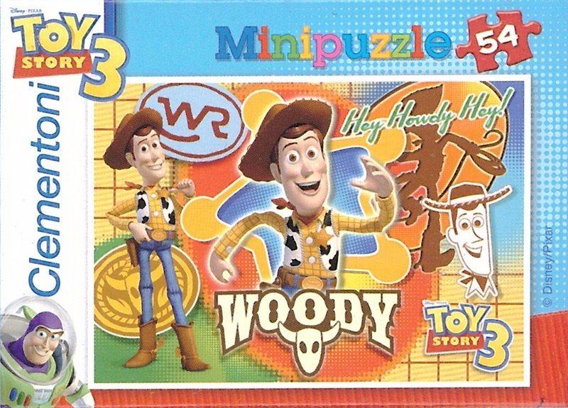 CLEMENTONI Puzzle Toy Story 3: Woody 54 dílků