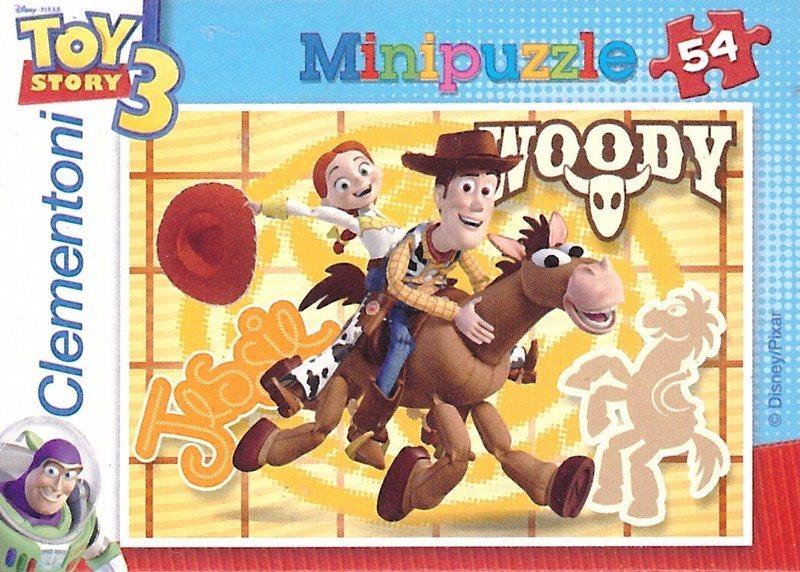 CLEMENTONI Puzzle Toy Story 3: Woody a Jessie 54 dílků
