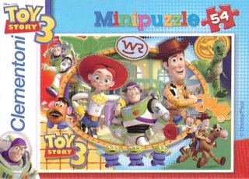 Dětské puzzle Clementoni 54 dílků - Toy Story 3: Woody, Jessie, Buzz