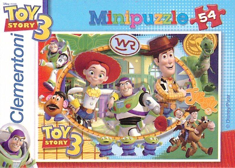CLEMENTONI Puzzle Toy Story 3: Woody, Jessie, Buzz 54 dílků