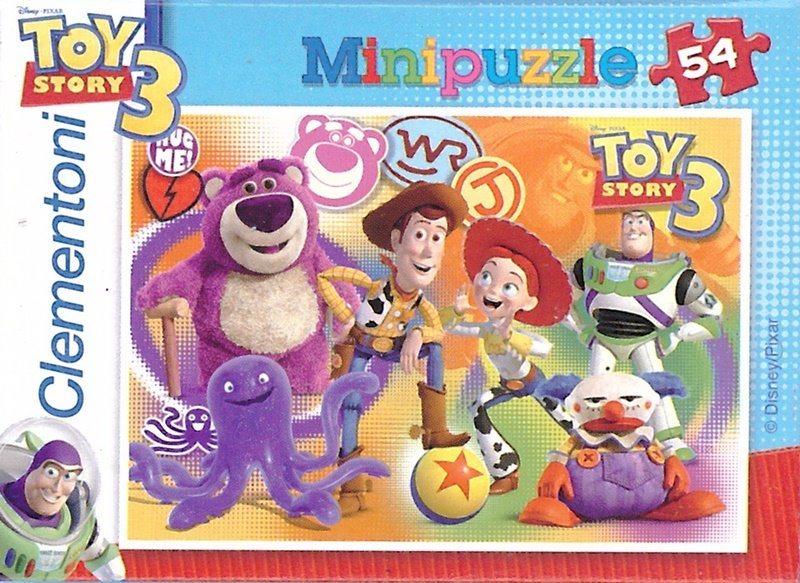 CLEMENTONI Puzzle Toy Story 3: Zábava 54 dílků
