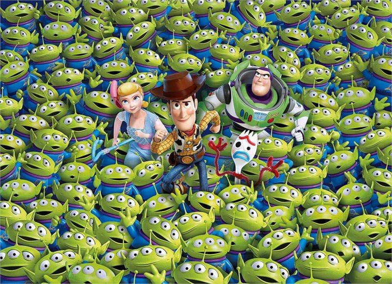 CLEMENTONI Puzzle Impossible: Toy Story 4 Příběh hraček 1000 dílků