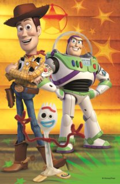 TREFL Puzzle Toy Story 4: Woody a Buzz 54 dílků
