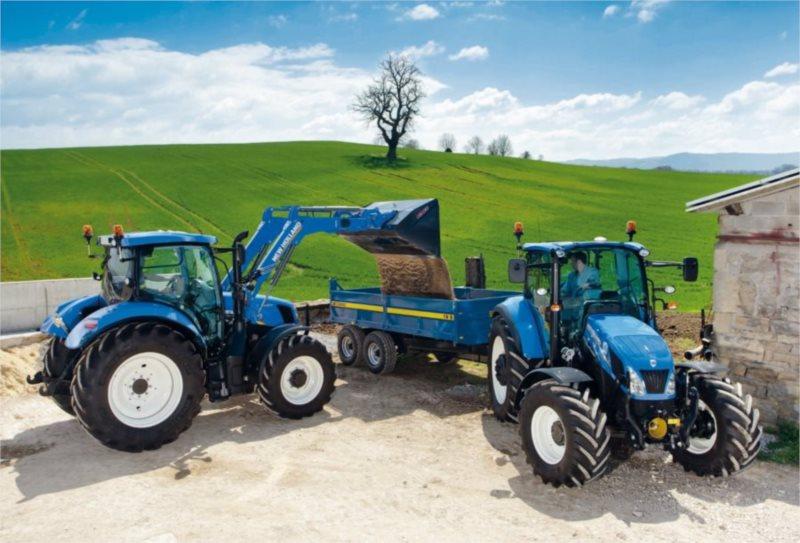 Puzzle Traktory New Holland T6AC a T5EC 200 dílků
