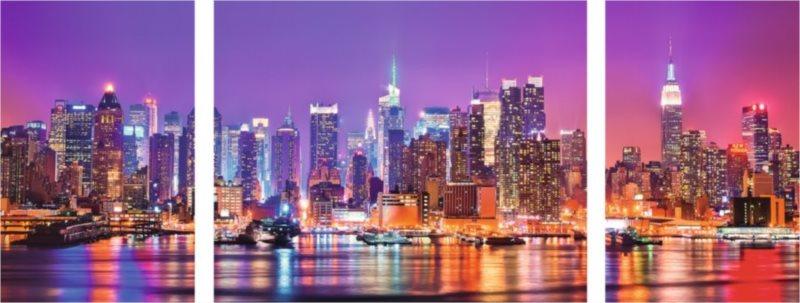 RAVENSBURGER Puzzle Triptych: New York, USA 1000 dílků