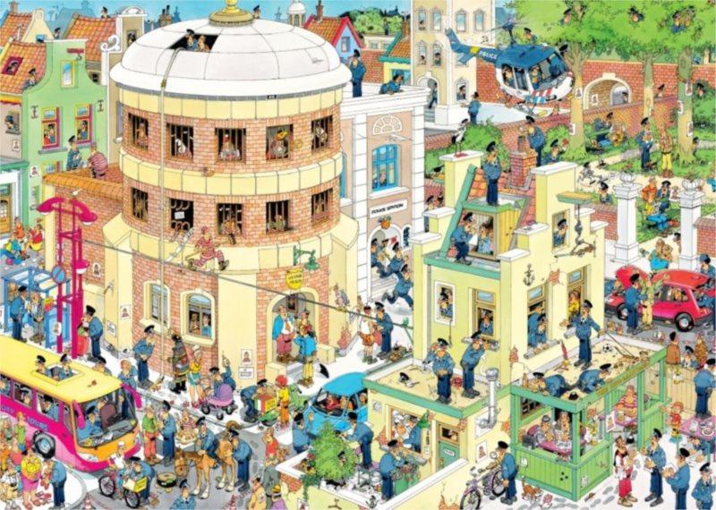 JUMBO Puzzle Útěk 1000 dílků