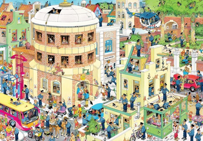 JUMBO Puzzle Útěk 2000 dílků