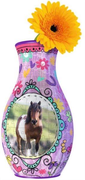 3D puzzle RAVENSBURGER Váza Kůň