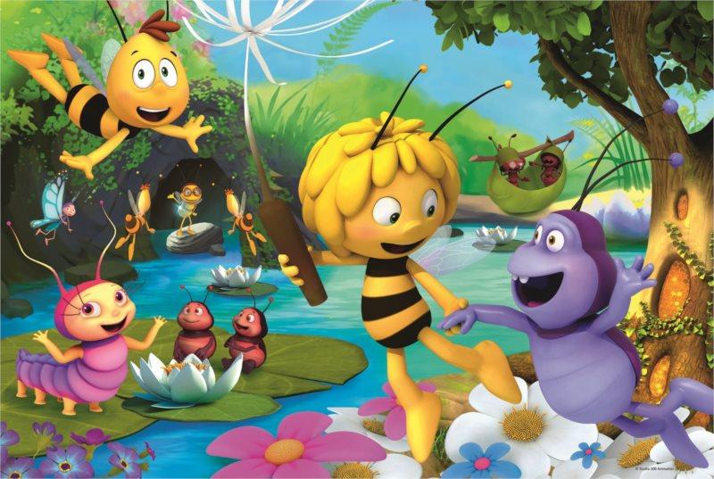 TREFL Puzzle Včelka Mája 100 dílků