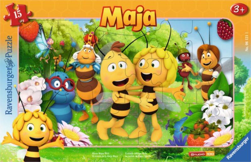 RAVENSBURGER Puzzle Včelka Mája 15 dílků