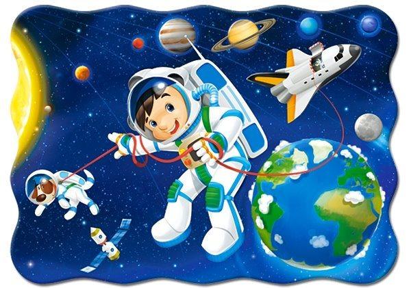 CASTORLAND Puzzle Ve vesmíru 30 dílků