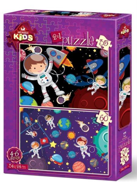 ART PUZZLE Puzzle Vesmír 35+60 dílků