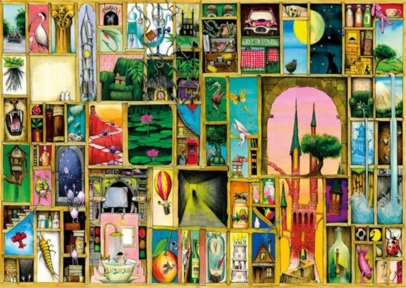Puzzle SCHMIDT 1000 dílků - C. Thompson, Vhledy