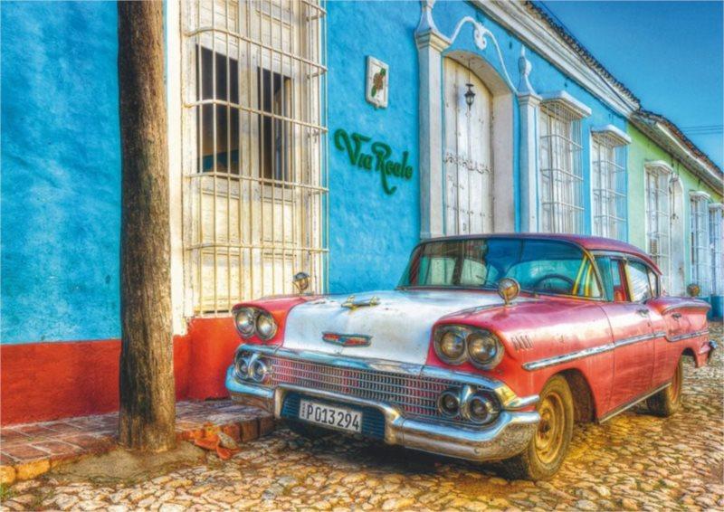 SCHMIDT Puzzle Via Reale, Kuba 500 dílků