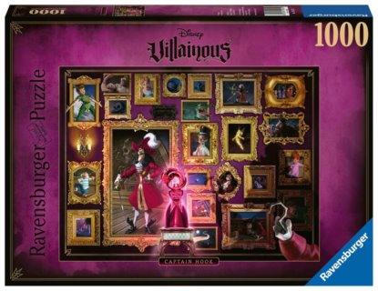RAVENSBURGER Puzzle Villainous: Kapitán Hook 1000 dílků