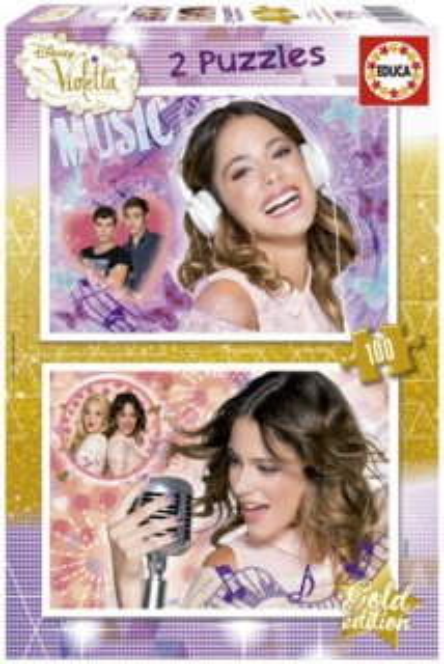 EDUCA Puzzle Violetta: Hudba 2x100 dílků