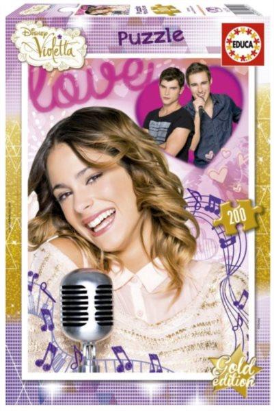 EDUCA Puzzle Violetta: Láska 200 dílků