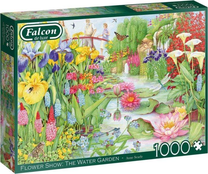 FALCON Puzzle Vodní zahrada 1000 dílků