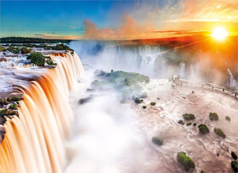 CLEMENTONI Puzzle Vodopády 1000 dílků