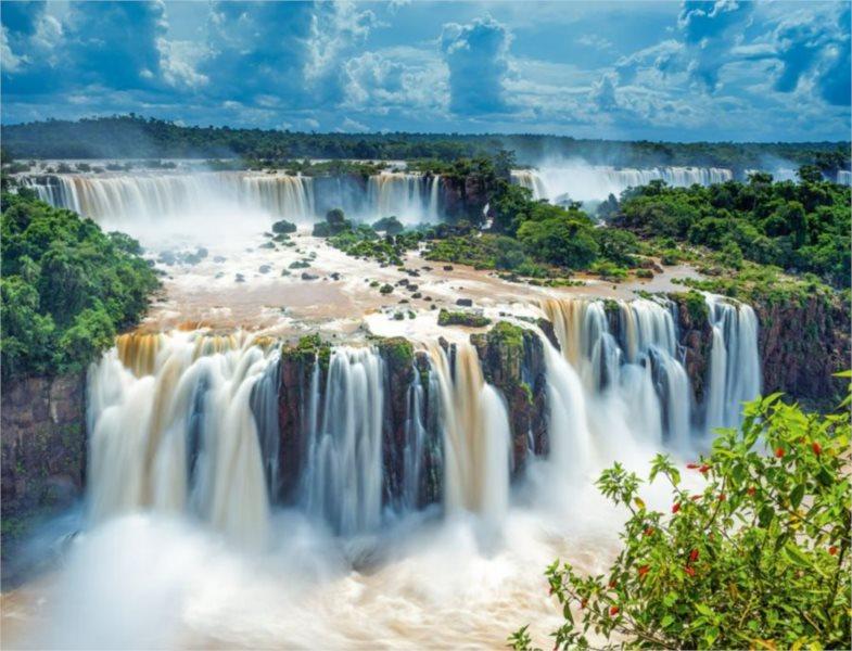 RAVENSBURGER Puzzle Vodopády Iguaçu 2000 dílků