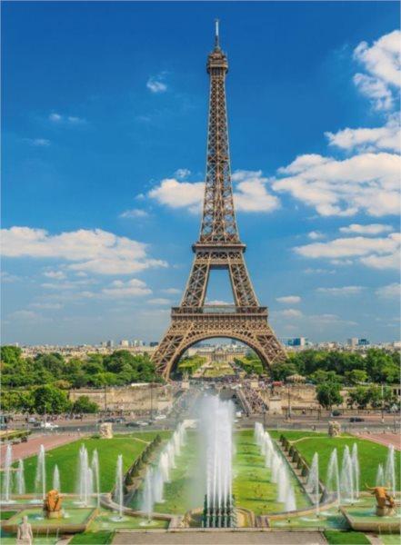 Puzzle RAVENSBURGER 300 dílků - Výhled na Eiffelovu věž