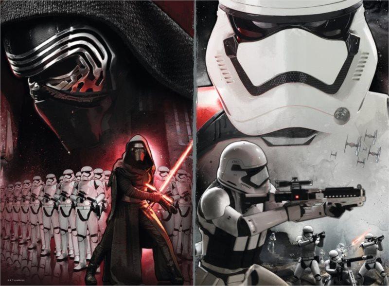 RAVENSBURGER Puzzle Star Wars: Síla se probouzí XXL 200 dílků