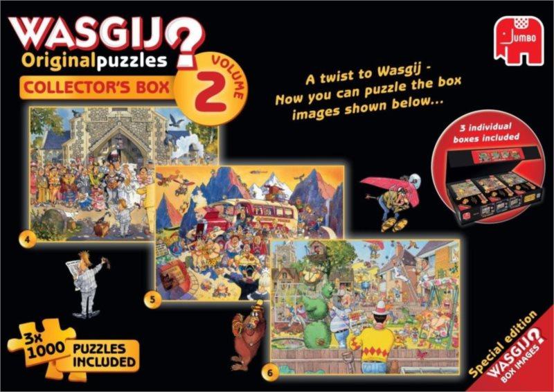 JUMBO Puzzle WASGIJ 2: Sběratelský box - 3x1000 dílků