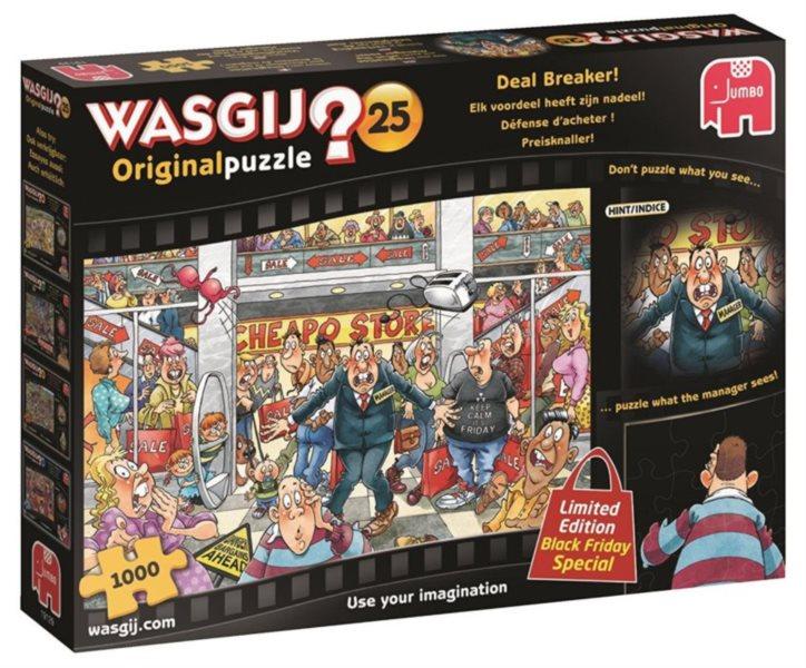 JUMBO Puzzle WASGIJ 25: Rozhodující výhoda - 1000 dílků