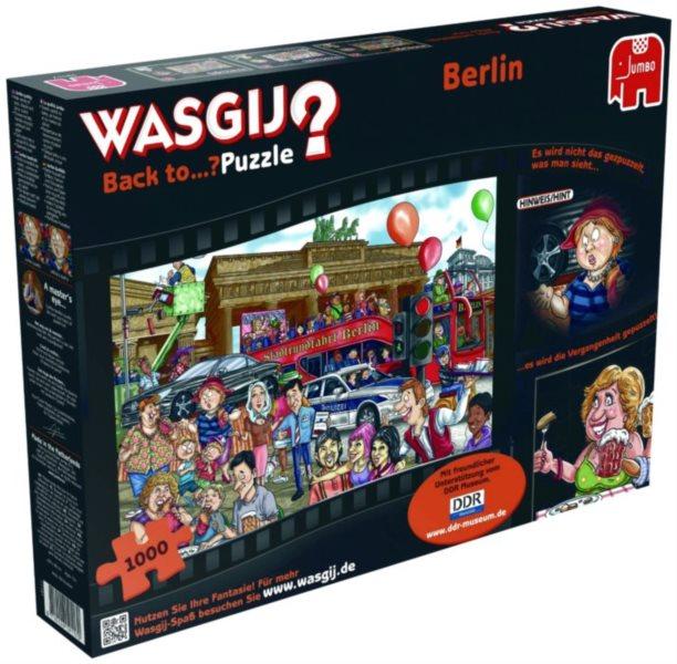 JUMBO Puzzle WASGIJ Back to: Berlín 1000 dílků