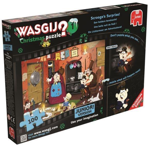 JUMBO Puzzle WASGIJ Christmas 1: Překvapení - 100 dílků
