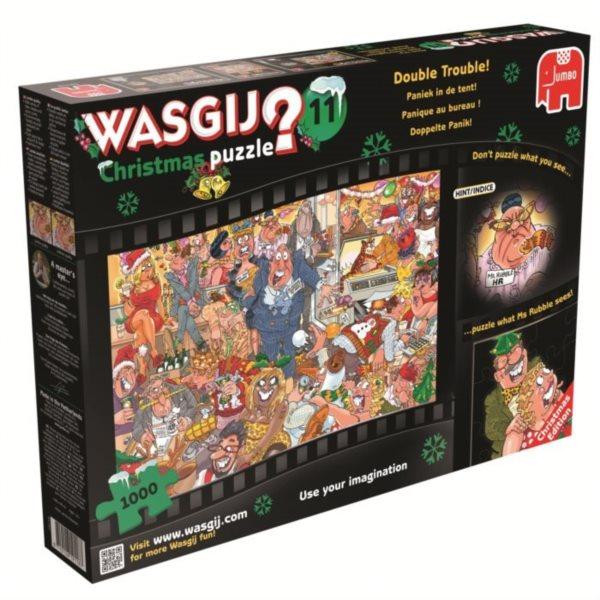 JUMBO Puzzle WASGIJ Christmas 11: Vánoční večírek 1000 dílků