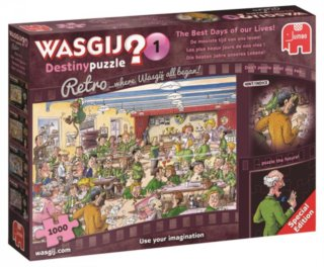 JUMBO Puzzle WASGIJ Destiny 1: Nejlepší dny našeho života 1000 dílků