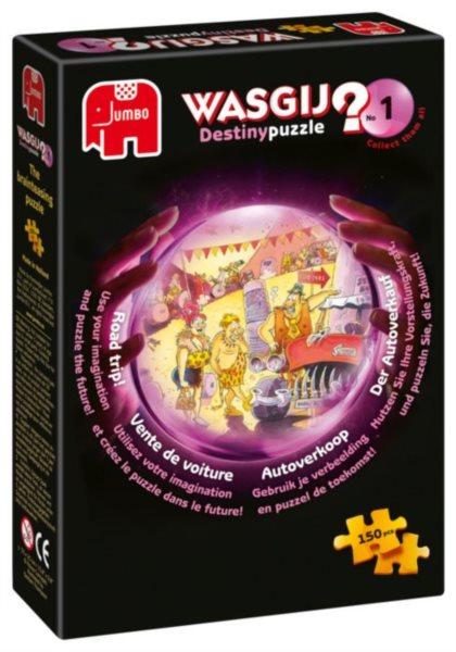 JUMBO Puzzle WASGIJ Destiny 1: Prodej auta - 150 dílků