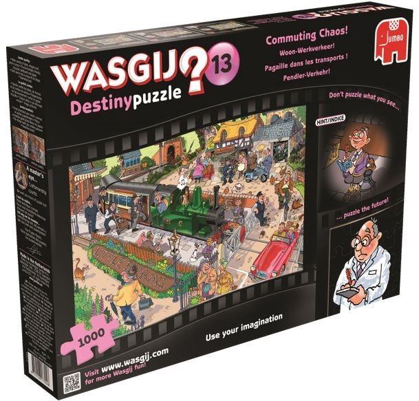JUMBO Puzzle WASGIJ Destiny 13: Dojíždění - 1000 dílků