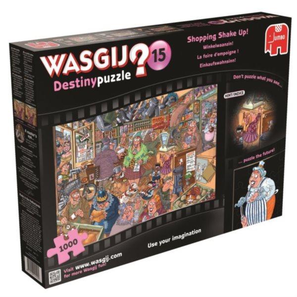JUMBO Puzzle WASGIJ Destiny 15: Nákupní rošáda - 1000 dílků