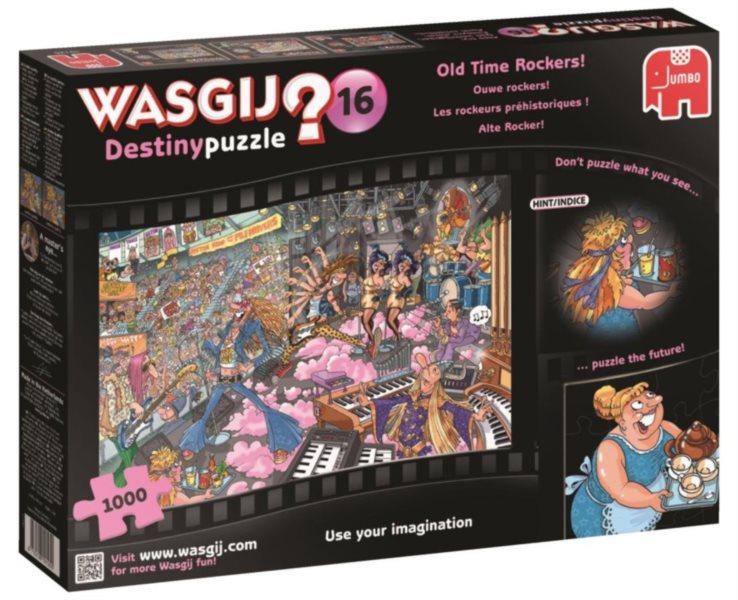 JUMBO Puzzle WASGIJ Destiny 16: Praví rockeři - 1000 dílků