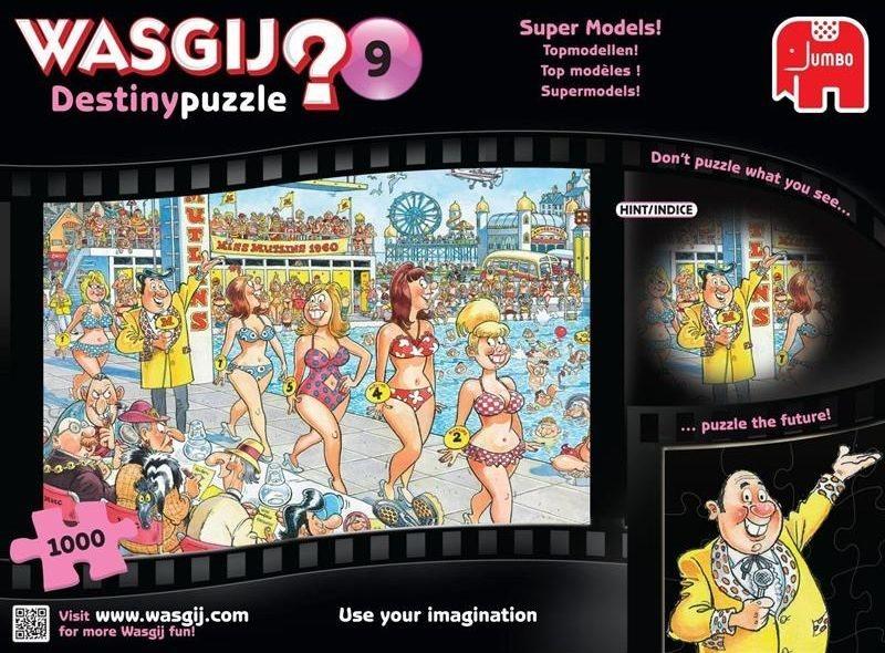 JUMBO Puzzle WASGIJ Destiny 9: Super modelky - 1000 dílků