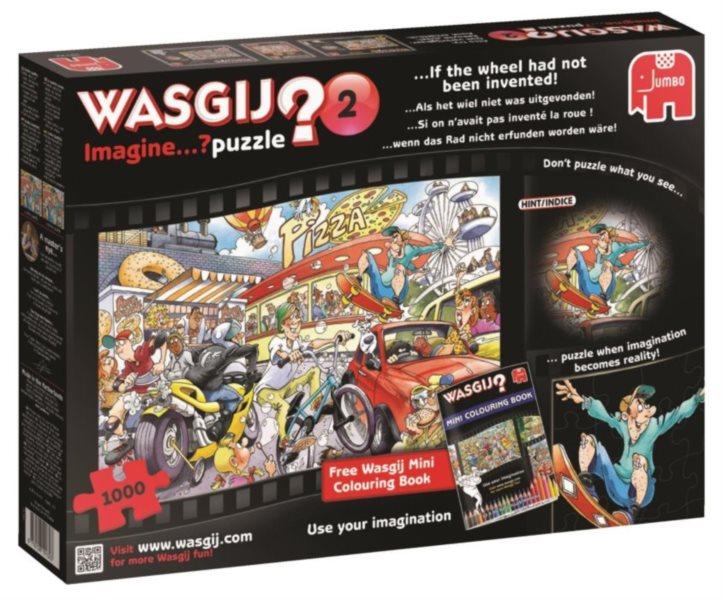 JUMBO Puzzle WASGIJ Imagine 2: Kdyby nás nevynalezli - 1000 dílků