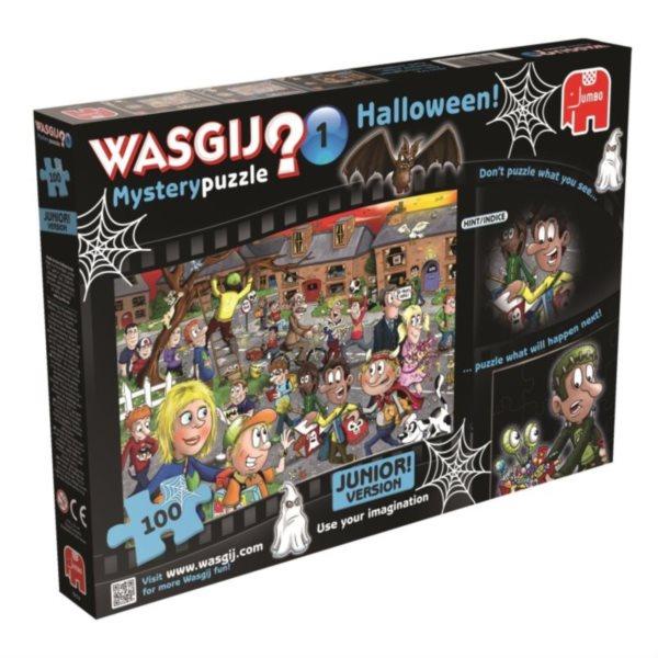 JUMBO Puzzle WASGIJ Mystery 1: Halloween - 100 dílků