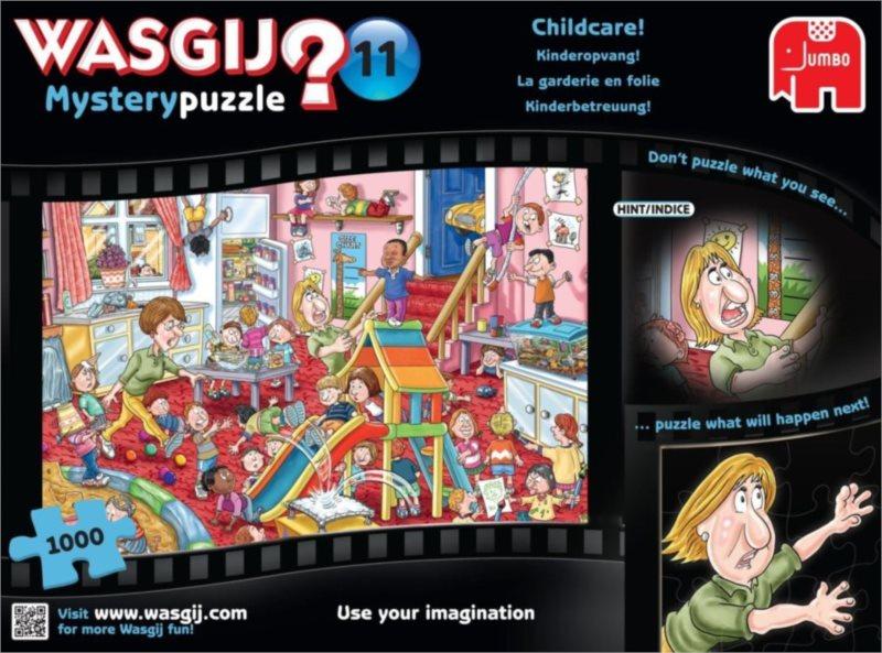 JUMBO Puzzle WASGIJ 11: Péče o děti - 1000 dílků