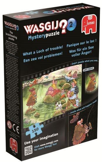 JUMBO Puzzle WASGIJ Mystery 2: Jezero plné problémů! - 150 dílků