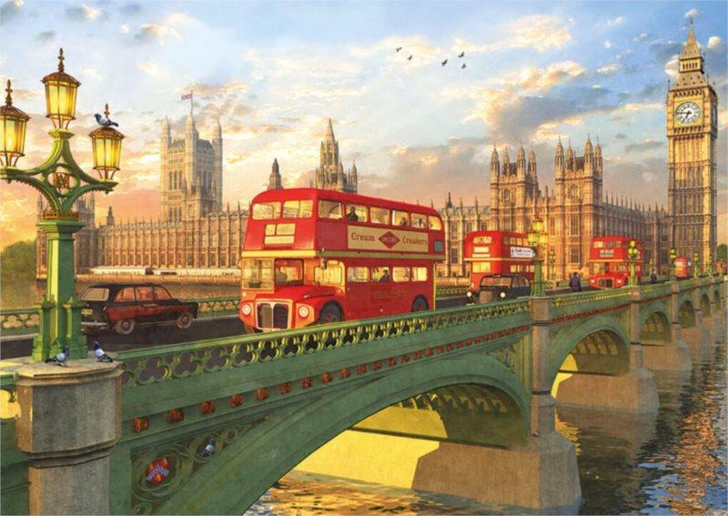 EDUCA Puzzle Westminsterský most 2000 dílků
