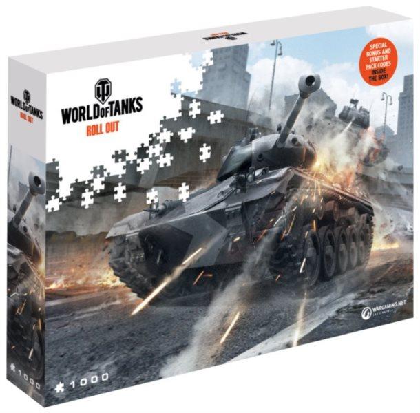 Puzzle World of Tanks: Kryj si záda 1000 dílků