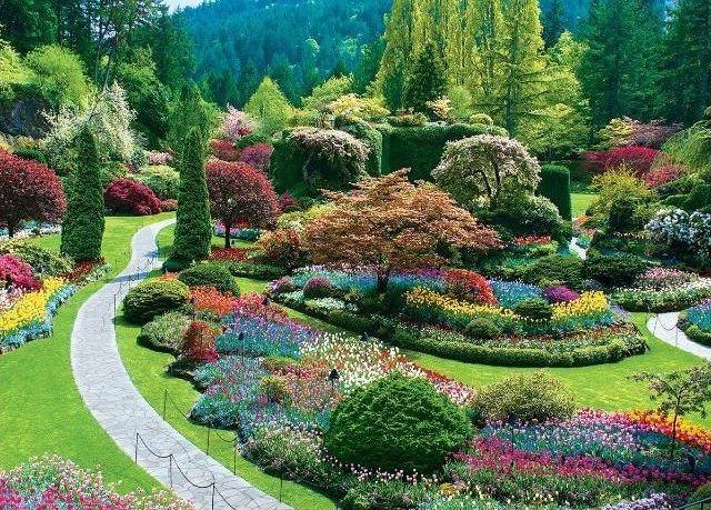 Puzzle EUROGRAPHICS 1000 dílků : Zahrady Butchart - Sunken Garden