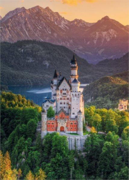 Puzzle SCHMIDT Zámek Neuschwanstein 1000 dílků