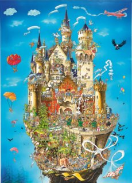Puzzle KING 05184 Zámek Neuschwanstein 1000 dílků